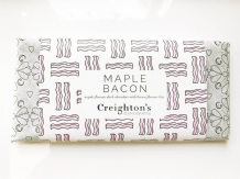 Creighton's Maple Bacon Chocolate Bar100g